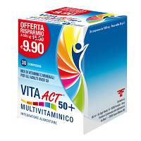 vita act 50+ multivitaminico 30 compresse